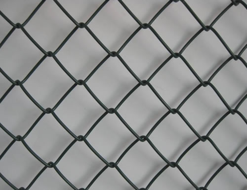 vinyl coated or plastic coated chain link mesh